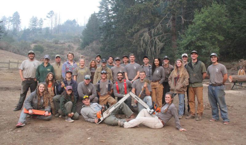Cal Poly San Luis Obispo logging team