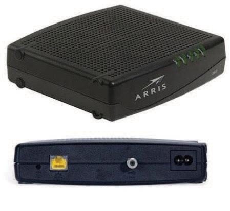 PST Coax Broadband Modem