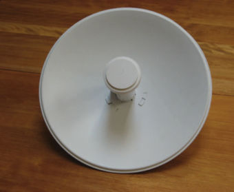 PST transceiver dish